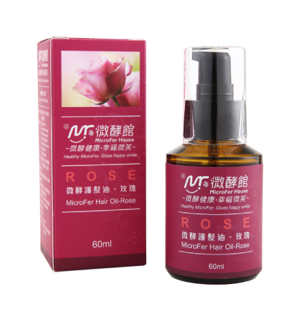 MicroFer Hair Oil-Rose