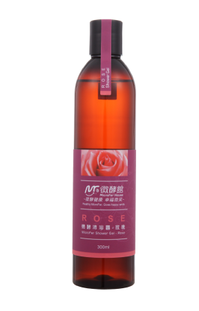 MicroFer Body Wash-Rose