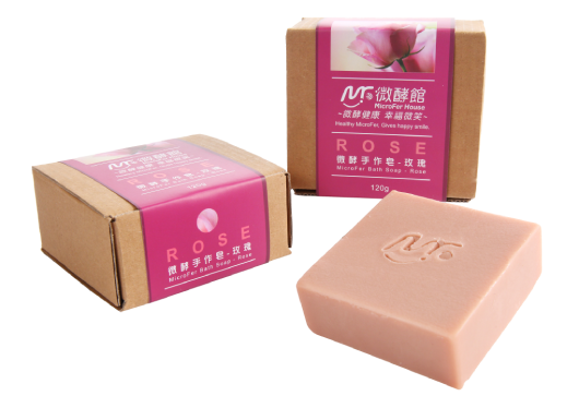 MicroFer Bath Soap-Rose