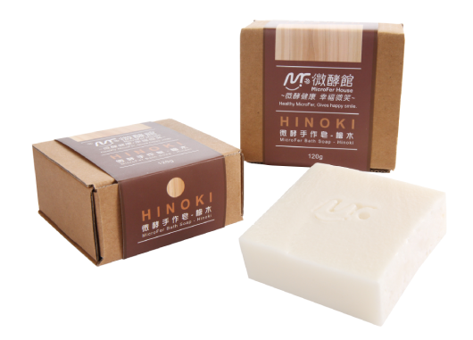 MicroFer Bath Soap-Hinoki